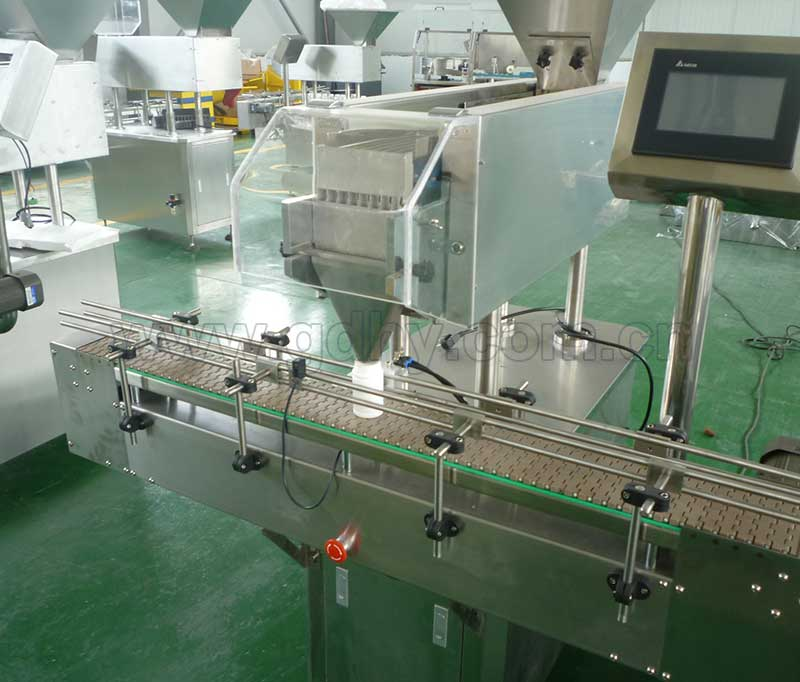 JS-8 Capsule Counting and Filling Machine